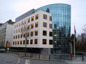 Le siège de la banque de Luxembourg