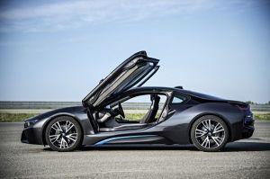 Le coupé BMW i8 qui a marqué les esprits en Belgique cette année
