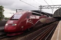 Nouvelle destination pour le Thalys. #tgv #thalys #sncf #sncb#nmbs