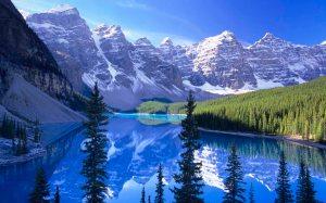 Moraine Lake, Banff National Park /Lac Moraine, parc national Ba