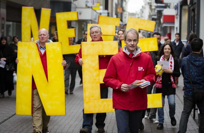 Dutch SP campaign against EU-Ukraine ratification